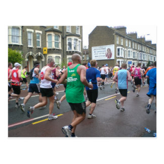Marathon in London 2010 Postcard