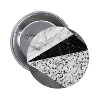 Marble and Granite Abstract 6 Cm Round Badge