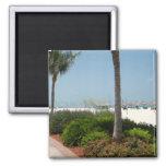 Marco Island, FL Square Magnet