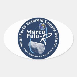 Marco Polo-R Oval Sticker