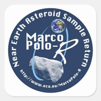 Marco Polo-R Square Sticker
