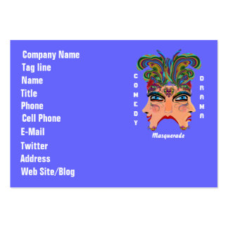 Mardi Gras Carnival Event  Please View Hints Pack Of Chubby Business Cards