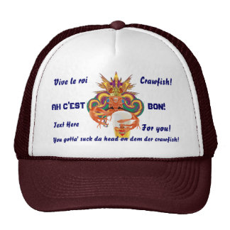 Mardi Gras Crawfish French View Hints please Cap