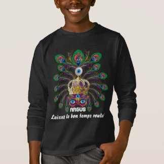 Mardi Gras KidsAll StylesDARK Important view notes T-shirt
