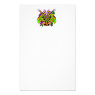 Mardi-Gras-Mask-The-Queen-V-3 Customized Stationery