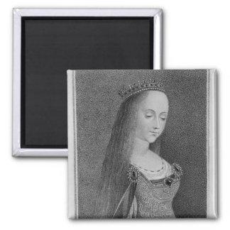 Margaret of Anjou Square Magnet