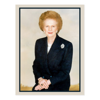Margaret Thatcher, The Iron Lady Postcard
