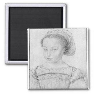 Marguerite de Valois  known as La Reine Margot Square Magnet