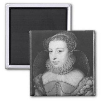 Marguerite de Valois  Queen of Navarre Square Magnet