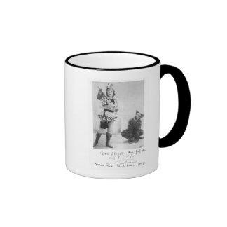 Marie Lloyd  as Dick Whittington in 1898 Ringer Mug