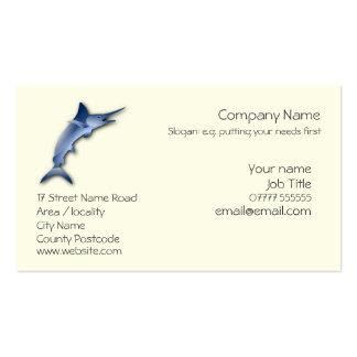 Marlin Generic business card template