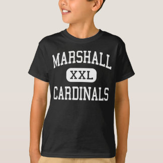 Marshall - Cardinals - Middle - Janesville T-shirts