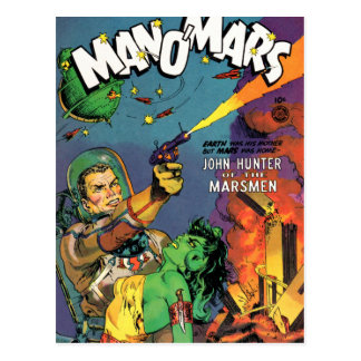 Marsmen Postcard