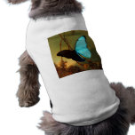 Martin Johnson Heade Blue Morpho Butterfly Sleeveless Dog Shirt