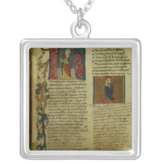 Martin Luther's Enrolment Square Pendant Necklace