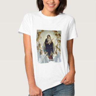 Mary with Angels - Regina Angelorum T-shirt