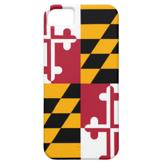 Maryland State Flag Design Decor iPhone 5 Cases