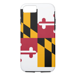 Maryland State Flag Design iPhone 7 Case