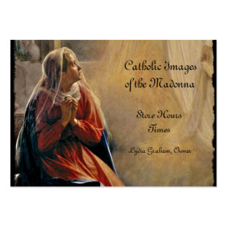 Mary's Annunciation Pack Of Chubby Business Cards