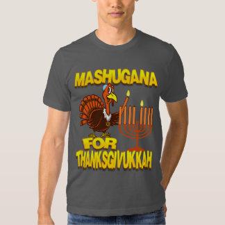 Mashugana For Thanksgivukkah Turkey Menorah Tshirt