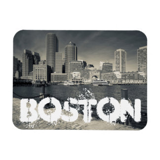 Massachusetts, Boston, Rowe's Wharf buildings Rectangular Photo Magnet