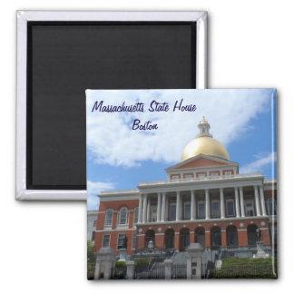 Massachusetts State House, Boston Square Magnet