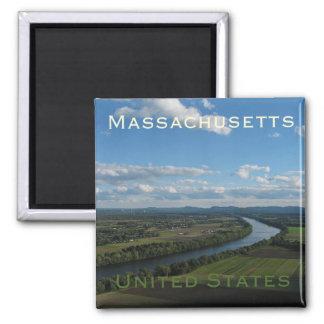 Massachusetts State Travel Souvenir Friidge Magnet