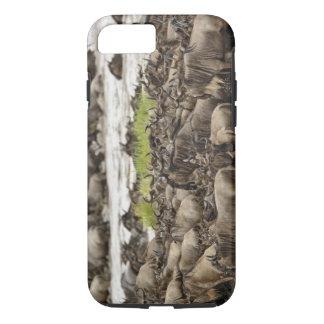 Massive Wildebeest herd during migration, iPhone 7 Case