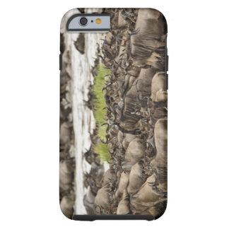 Massive Wildebeest herd during migration, Tough iPhone 6 Case