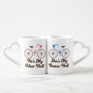 Matching Couples Better Half Love Mugs Lovers Mug