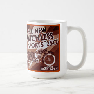 Matchless motorcycle sport 250 basic white mug