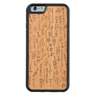 Math Formulas And Numbers Cherry iPhone 6 Bumper