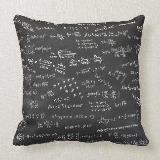 Math Formulas And Numbers Cushion