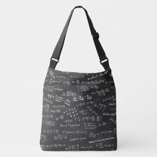 Math Formulas And Numbers On Blackboard Tote Bag