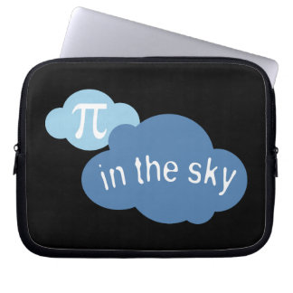 Math Humor Pi in the Sky! Laptop Sleeve