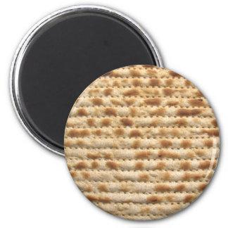 Matzah biscuit flatbread 6 cm round magnet