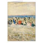 Maurice Prendergast- Revere Beach Greeting Card