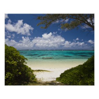 Mauritius, Eastern Mauritius, Belle Mare, East Poster