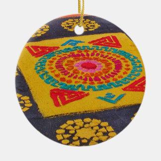 Mayan Design Ornament 3