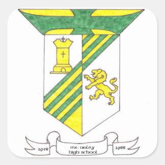 McAuley High School 1958-1988 Square Sticker