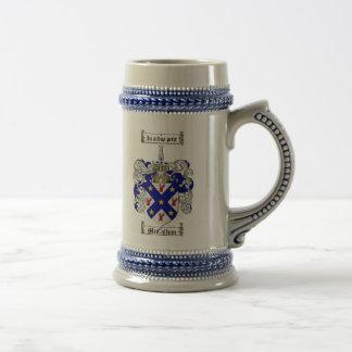 McCallum Coat of Arms Stein McCallum Crest Stein Beer Steins