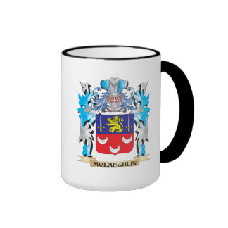 Mclaughlin Coat of Arms - Family Crest Ringer Mug