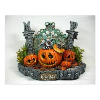 MD Halloween Dragon Postcard