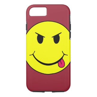 Mean Smiley Face Punk iPhone 7 case