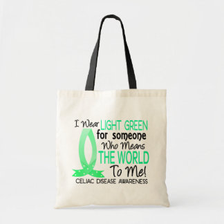Means The World To Me Celiac Disease Budget Tote Bag