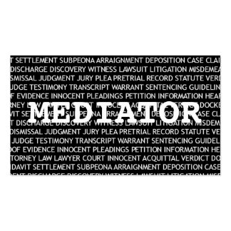 Mediator Words Business Card