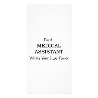 MEDICAL ASSISTANT CUSTOMISED PHOTO CARD