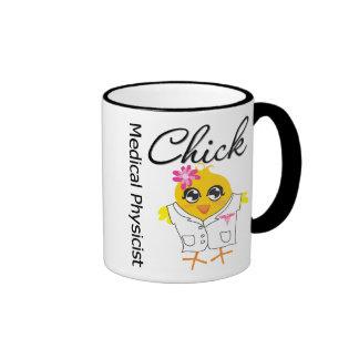 Medical Physicist Chick v2 Ringer Mug