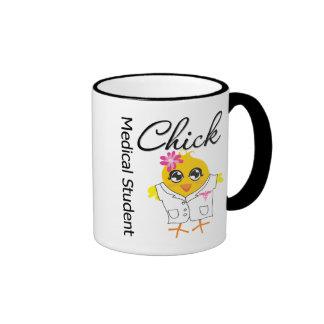 Medical Student Chick Ringer Mug