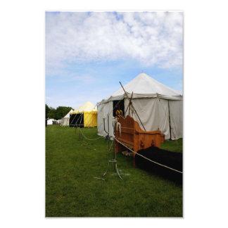 Medieval camp Photo Enlargement